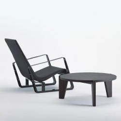 CITÉ leather - Easy chair - Designer Furniture - Silvera Uk