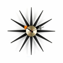 SUNBURST CLOCK - Clock - Accessories -  Silvera Uk