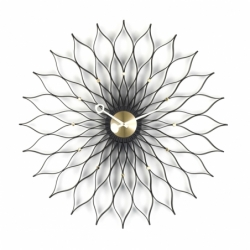 SUNFLOWER CLOCK - Clock - Accessories -  Silvera Uk