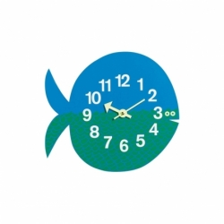 ZOO TIMER Fernando the Fish Clock - Clock - Accessories -  Silvera Uk