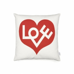 GRAPHIC LOVE Cushion - Cushion -  -  Silvera Uk