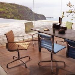 ALUMINIUM CHAIR EA 103 Fixed - Office Chair - Designer Furniture - Silvera Uk
