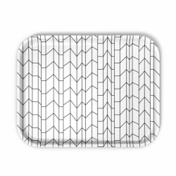CLASSIC TRAY GRAPH large - Tray, Dish -  -  Silvera Uk
