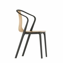 BELLEVILLE ARMCHAIR wood - Dining Armchair - Designer Furniture -  Silvera Uk