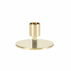 CIRCLE HIGH Candlestick - Candle Holder, Candlestick and Candle - Accessories - Silvera Uk