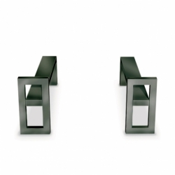 WINDOW Andirons - Fireplace Accessories - Spaces -  Silvera Uk