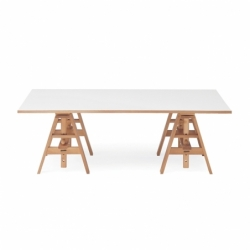 LEONARDO - Dining Table - Designer Furniture -  Silvera Uk
