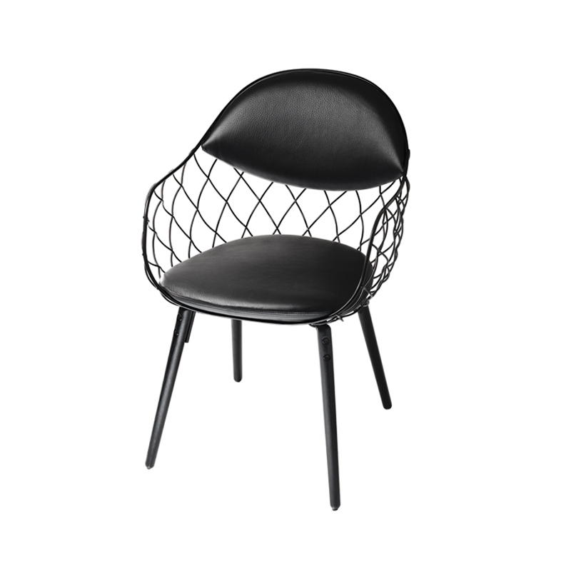 PIÑA leather - Dining Armchair - Designer Furniture - Silvera Uk