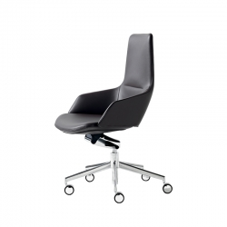 ASTON OFFICE SYNCRO - Office Chair -  -  Silvera Uk