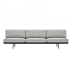 ZINTA LOUNGE 3 seater - Sofa -  -  Silvera Uk