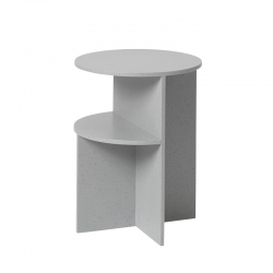 HALVES SIDE TABLE - Side Table - Themes -  Silvera Uk