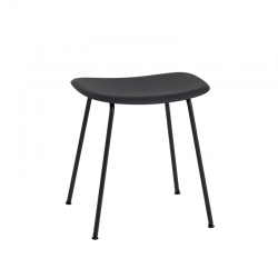 FIBER STOOL Steel legs - Stool - Designer Furniture -  Silvera Uk