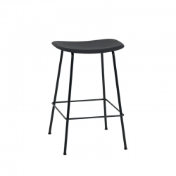 FIBER BAR STOOL Steel legs H65 - Bar Stool - Designer Furniture -  Silvera Uk