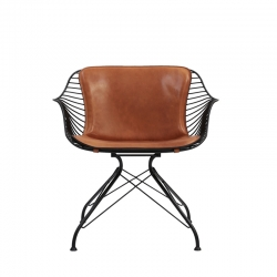 WIRE LOUNGE CHAIR - Easy chair - Designer Furniture -  Silvera Uk