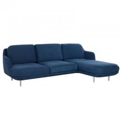 LUNE 3 seater with chaise longue - Sofa - Designer Furniture -  Silvera Uk