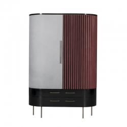 PLISSÉ Cupboard - Storage Unit - Designer Furniture -  Silvera Uk