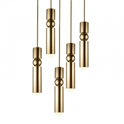 FULCRUM 5 pièces - Pendant Light - Designer Lighting -  Silvera Uk