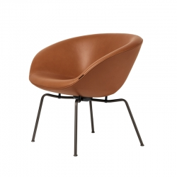 POT Leather - Easy chair - Designer Furniture -  Silvera Uk