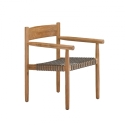 TIBBO - Dining Armchair - Designer Furniture -  Silvera Uk