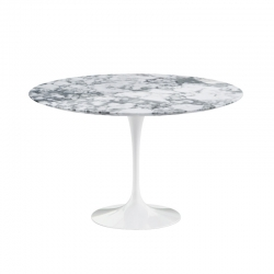 SAARINEN Arabescato marble - Dining Table - Showrooms -  Silvera Uk
