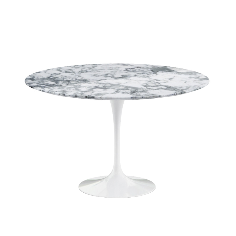 SAARINEN Arabescato marble - Dining Table - Designer Furniture - Silvera Uk