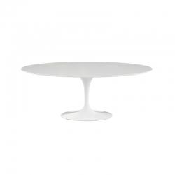 SAARINEN Oval laminated top - Dining Table - Designer Furniture -  Silvera Uk