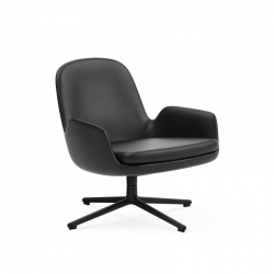 ERA LOW Swivel - Easy chair - Designer Furniture -  Silvera Uk
