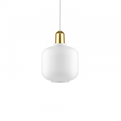 AMP brass Small - Pendant Light - Designer Lighting -  Silvera Uk