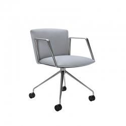 VELA low backrest - Dining Armchair - Designer Furniture -  Silvera Uk