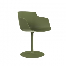 FLOW SLIM COLOR central leg - Dining Armchair -  -  Silvera Uk