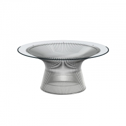 PLATNER Ø 91,5 - Coffee Table - Designer Furniture -  Silvera Uk