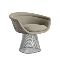 PLATNER LOUNGE - Easy chair - Designer Furniture -  Silvera Uk