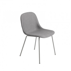 FIBER CHAIR 4 steel legs fabric shell - Dining Chair -  -  Silvera Uk