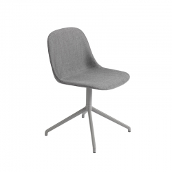 FIBER CHAIR central leg fabric shell - Dining Chair -  -  Silvera Uk