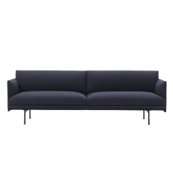 OUTLINE 3 seater fabric - Sofa - Themes -  Silvera Uk