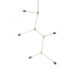 TRIBECA HARRISON CHANDELIER - Pendant Light - Showrooms -  Silvera Uk