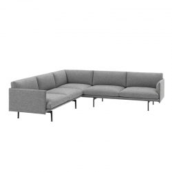 OUTLINE CORNER - Sofa - Designer Furniture -  Silvera Uk