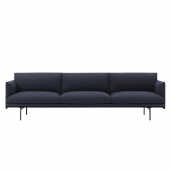 OUTLINE 3 1/2 seater - Sofa - Showrooms -  Silvera Uk