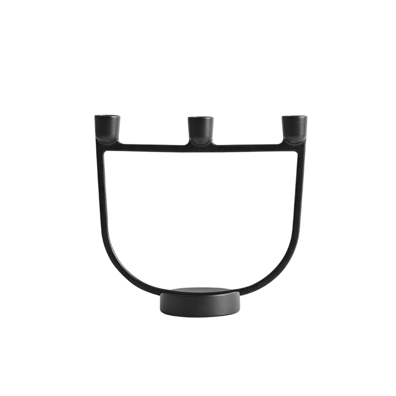 OPEN Candlestick - Candle Holder, Candlestick and Candle - Accessories - Silvera Uk