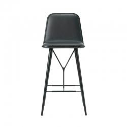SPINE  BARSTOOL with backrest - Bar Stool - Designer Furniture -  Silvera Uk