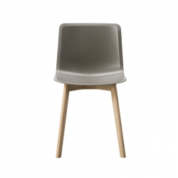 PATO wooden legs - Dining Chair - Spaces -  Silvera Uk