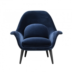SWOON LOUNGE - Easy chair - Showrooms -  Silvera Uk