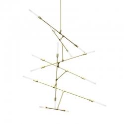 DAWN 14 VERTICAL - Pendant Light - Designer Lighting -  Silvera Uk