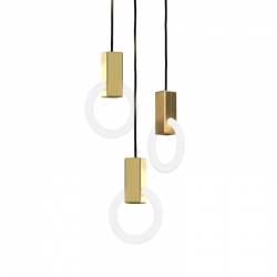 HALO C3 - Pendant Light - Designer Lighting -  Silvera Uk