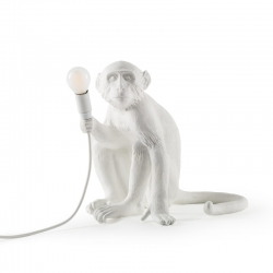 MONKEY Sitting - Table Lamp - Showrooms -  Silvera Uk