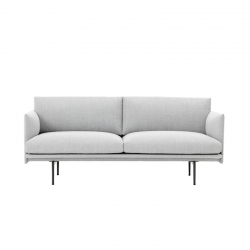 OUTLINE 2 seater fabric - Sofa - Themes -  Silvera Uk