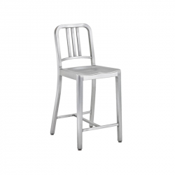 1006 NAVY STOOL - Bar Stool - Designer Furniture -  Silvera Uk