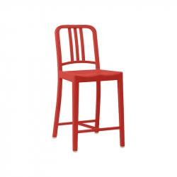 111 NAVY STOOL - Bar Stool - Designer Furniture -  Silvera Uk
