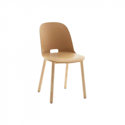 ALFI high backrest - Dining Chair - Designer Furniture -  Silvera Uk