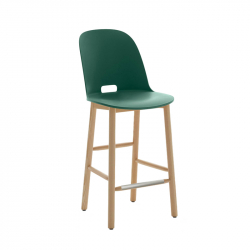 ALFI STOOL high backrest - Bar Stool - Designer Furniture -  Silvera Uk
